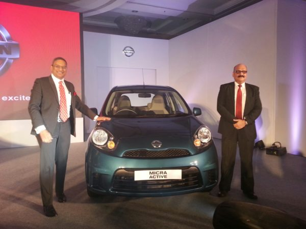 2013 Nissan Micra facelift launch pics 1 (5)