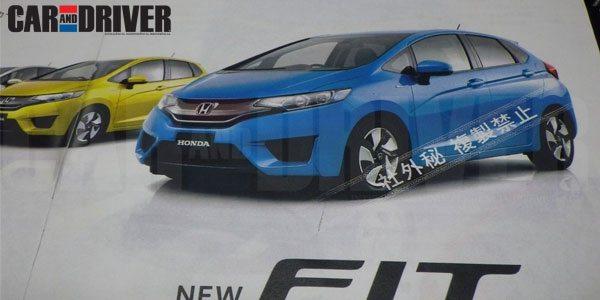 2014 Honda Fit Jazz Pics 1