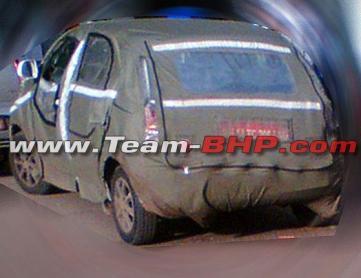More pics of upcoming 2014 Tata Indica Vista facelift