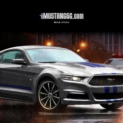 Check out the 2015 Ford Mustang in this rendering