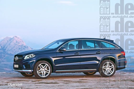 Mercedes Gl Coupe Could Come In 2016 Motoroids