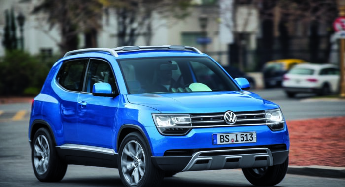 vw taigun small suv could be launched in 2016 motoroids. Black Bedroom Furniture Sets. Home Design Ideas