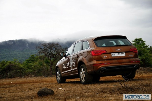 Audi Q7 4.2 TDI Quattro road test review (19)