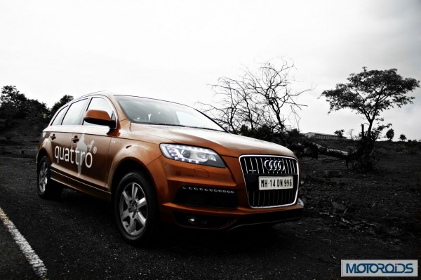 Audi Q7 4.2 TDI Quattro road test review (2)