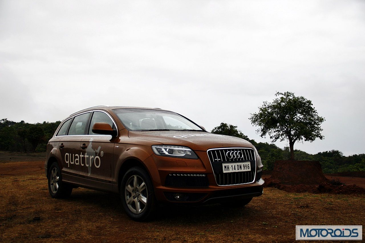 audi q7 4 2 tdi quattro road test review 8. Black Bedroom Furniture Sets. Home Design Ideas