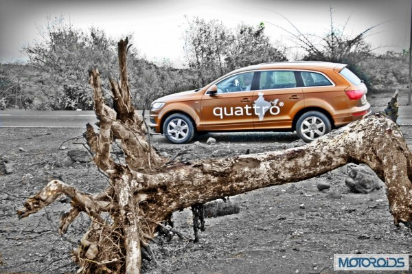 Audi Q7 4.2 TDI Quattro road test review (88)