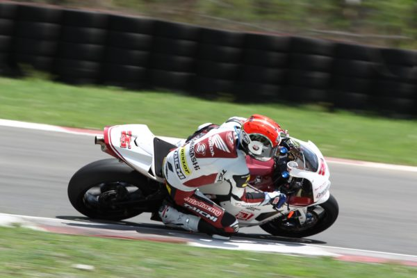 Azlan Shah in action during the SuperSports 600cc qualifying 3