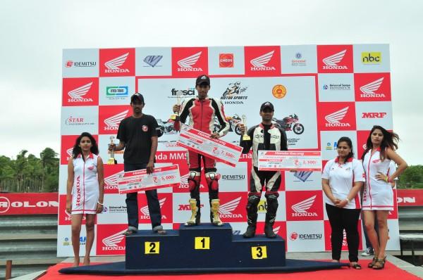 CBF Stunner podium