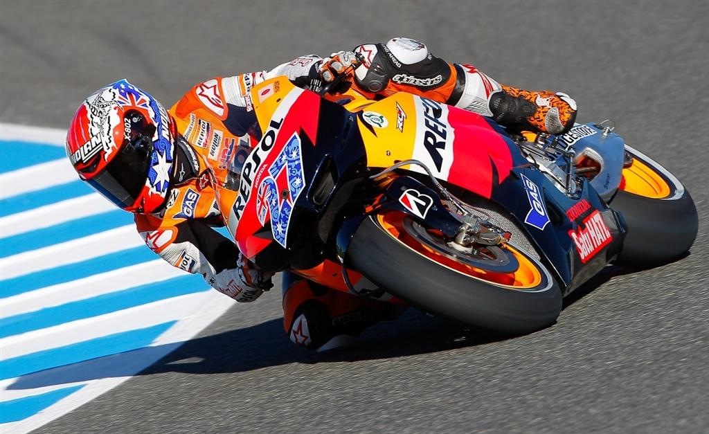 Casey Stoner Test Rider for Honda Racing