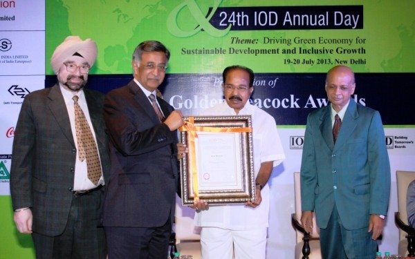 IOD distinguished fellowship Award 2013