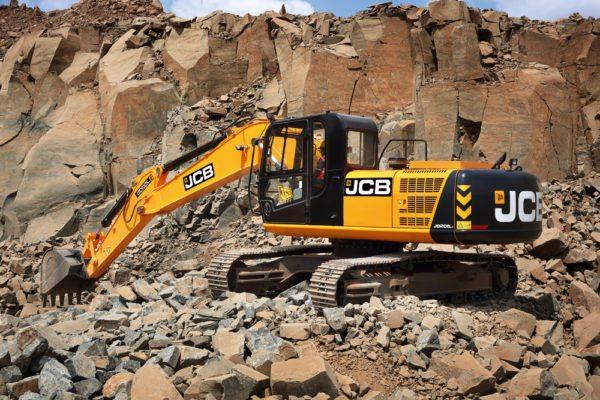 JCB's New Tracked Excavator