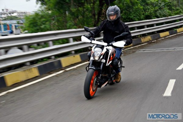 KTM 390 Duke India road test review (2)