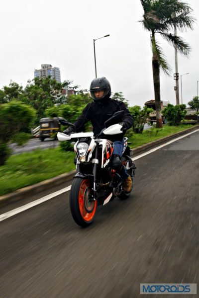 KTM 390 Duke India road test review (3)