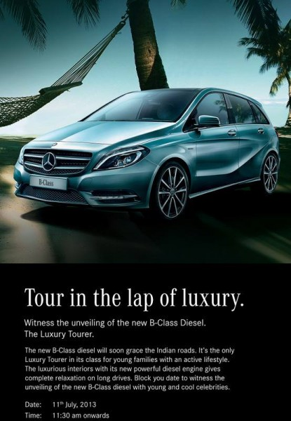Mercedes-Benz-B-Class-diesel-India-launch-date