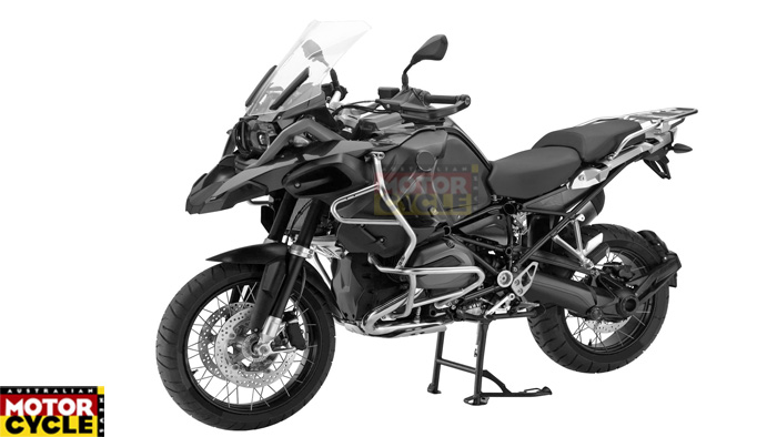 New BMW R1200GS Adventure