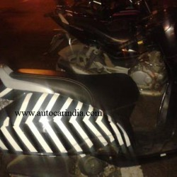TVS Wego based scooter spotted again. Launch soon