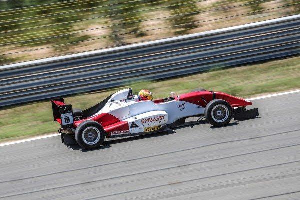 Raj at Ordos International Circuit