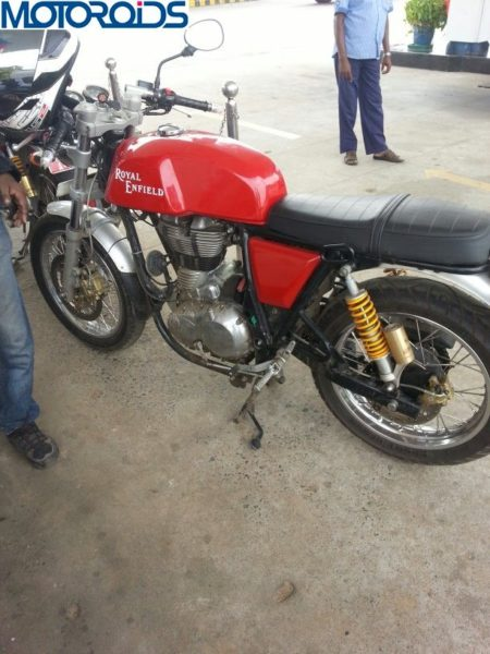Royal Enfield Continental GT535 Cafe Racer Launch Date Pics 4
