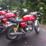 Spotted- 3 different guises of 2014 Royal Enfield Continental GT535 Café Racer