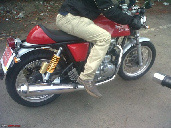 Royal Enfield Continental GT535 pics 1
