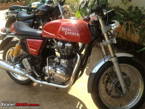Royal Enfield Continental GT535 pics 8