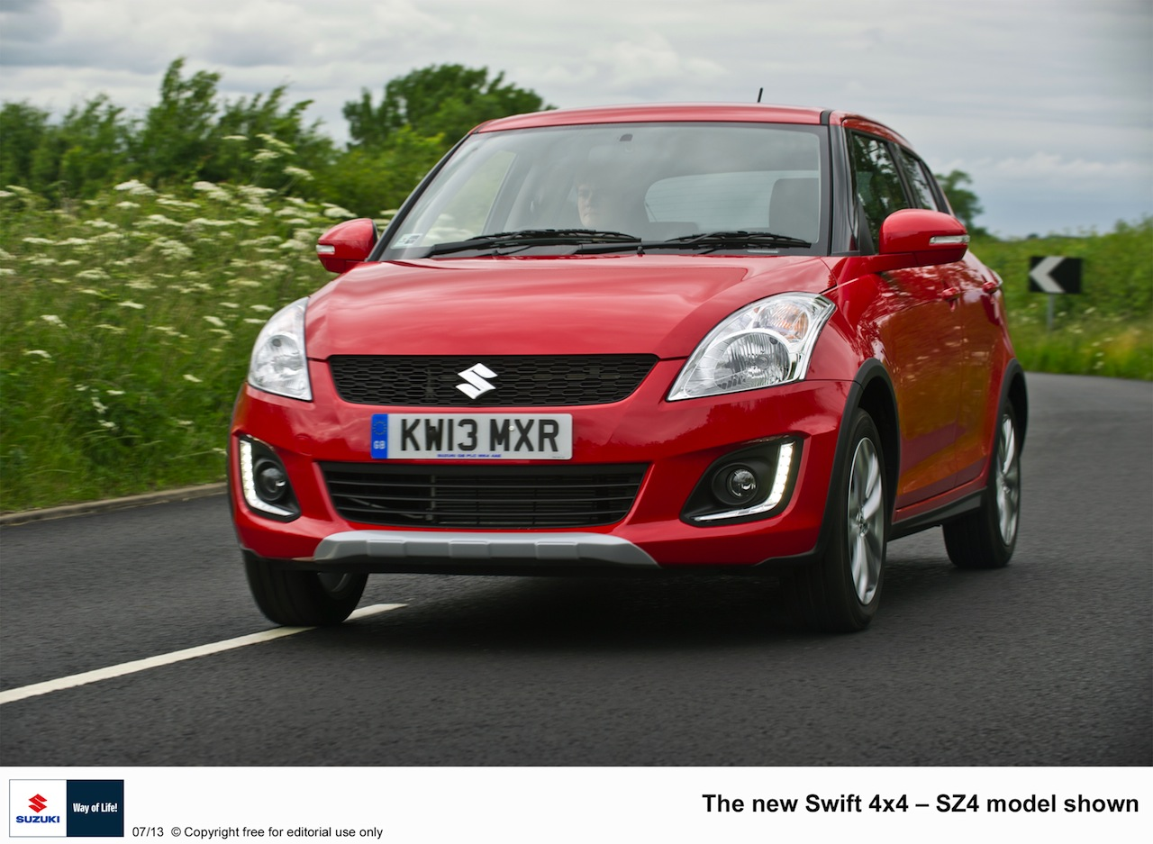 uk car market gets suzuki swift 4 4 motoroids. Black Bedroom Furniture Sets. Home Design Ideas