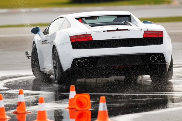 Testing the Limits with Gallardo at the Lamborghini Academy