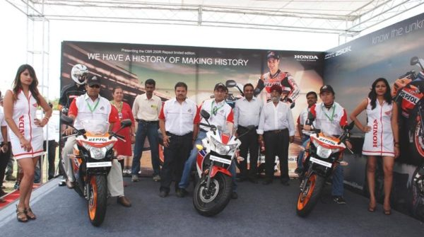 Unveiling of CBR 250R