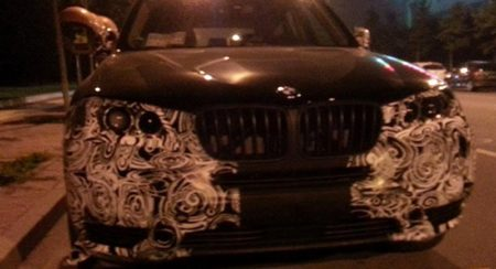 BMW X3 facelift spotted in China