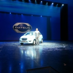 Datsun Go hatchback unveiled! To be priced under INR 4 lakhs