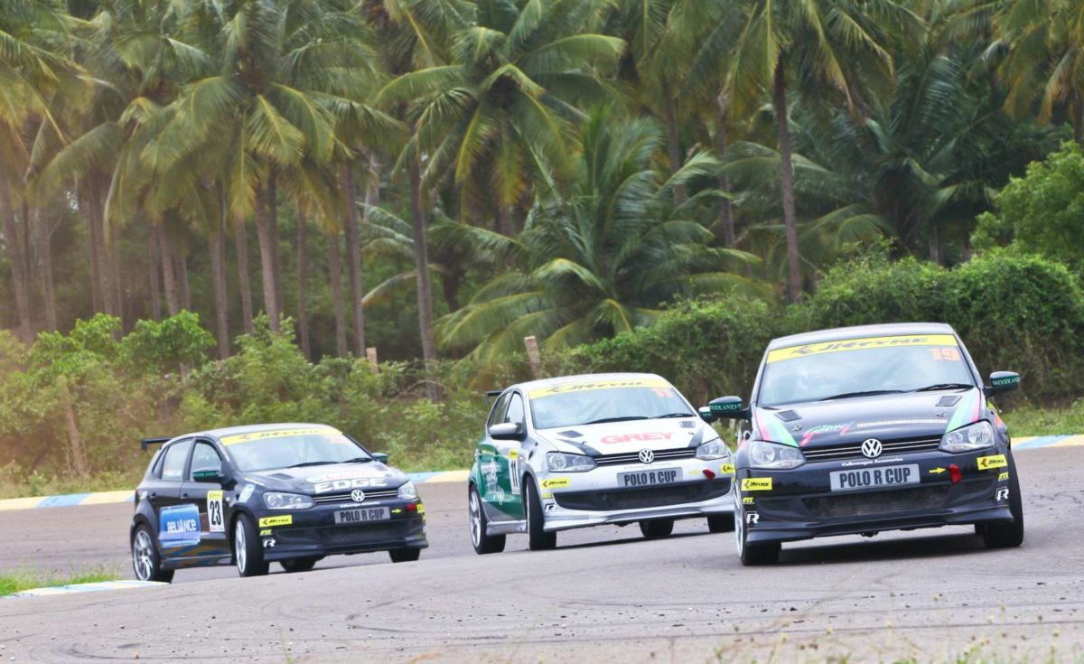 1.Action during Round 1 of Polo R Cup 2013