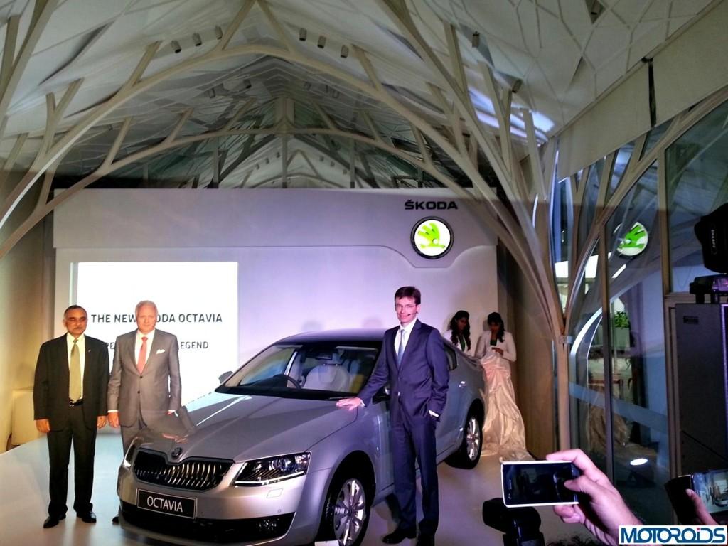 2013 Skoda Octavia India Launch