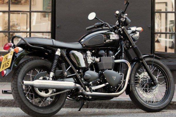 2014 Triumph Bonneville T100 Black