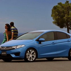 Check out the 2015 Honda City in this rendering