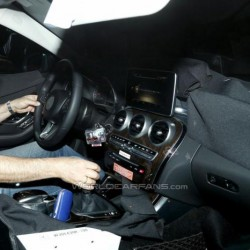 SPIED- 2015 Mercedes C Class spied inside and out
