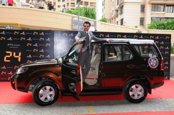 Ace Actor, Anil Kapoor with the Safari Storme Explorer Edition