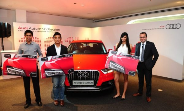 Audi Q3 S Edition revs up to a successful start_ bags 125 bookings on Day 1 through the innovative online booking process-