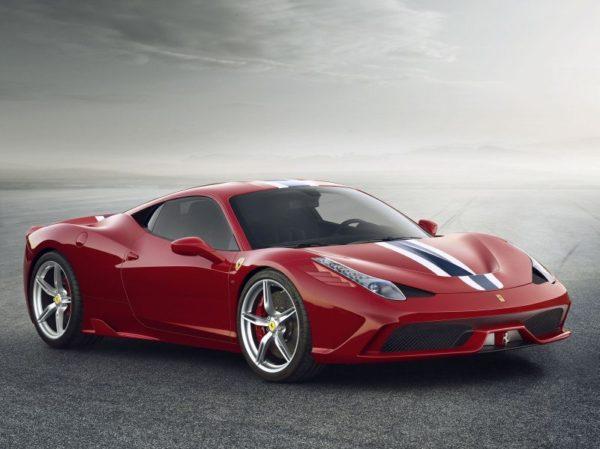 Ferrari 458 Speciale Anteriore