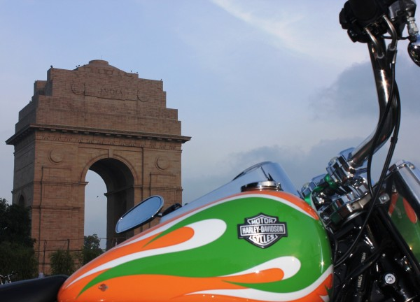 Harley-Davidson @ India Gate