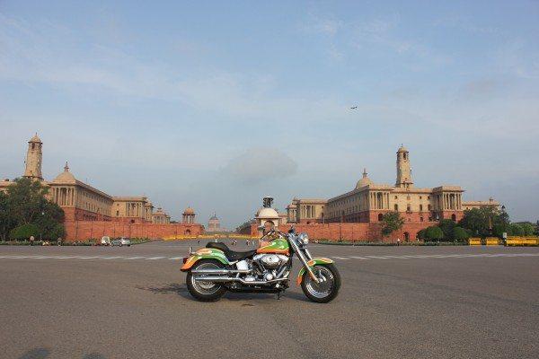 Harley-Davidson @ Rashtrapati Bhawan