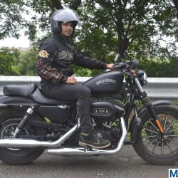 Superbike ownership experiences in India: Prasad Parkar shares his fascination with the Harley Davidson Iron 883
