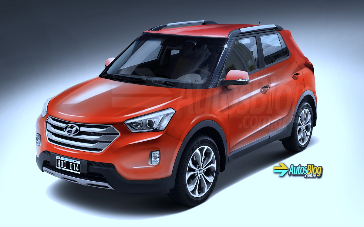yet another rendering of the india bound hyundai mini suv motoroids. Black Bedroom Furniture Sets. Home Design Ideas