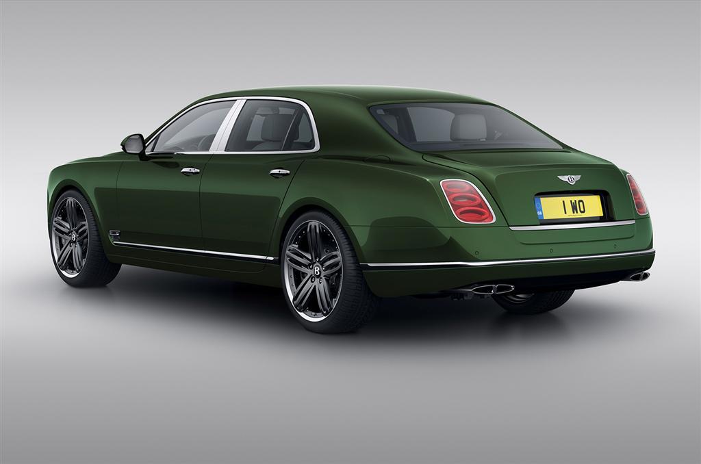 Limited Edition Bentley Mulsanne Le Mans-2
