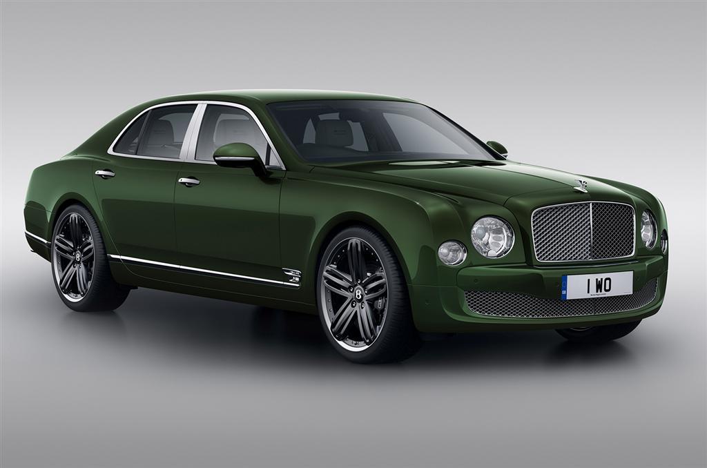 Limited Edition Bentley Mulsanne Le Mans