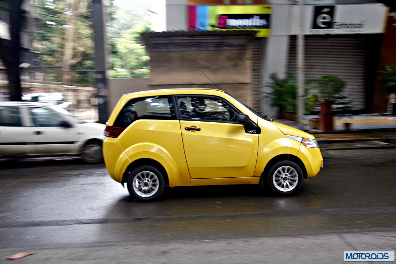 Mahindra Reva E2o India Review 78 Motoroids Com