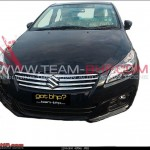 Maruti SX4 replacement, the YL1 Sedan, spotted un-camouflaged