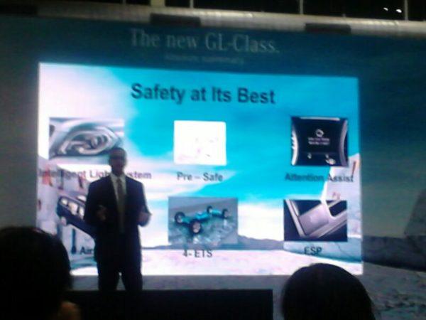 Mercedes Benz GL -Class India launch (2)