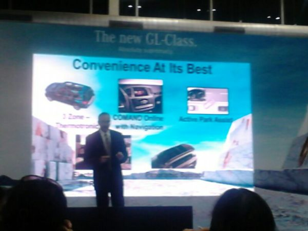 Mercedes Benz GL -Class India launch (3)
