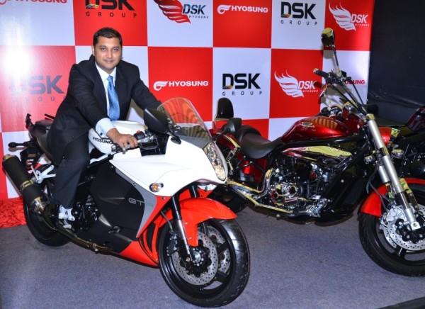 Mr. Shirish Kulkarni, Chairman, DSK Motowheels Pvt Ltd.