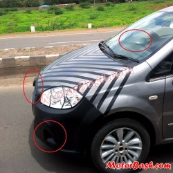 Finally! 2013 Fiat Linea Facelift Spotted Testing in India